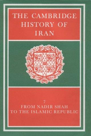 The Cambridge History of Iran by