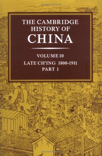 The Cambridge history of China by general editors, Denis Twitchett and John K. Fairbank.