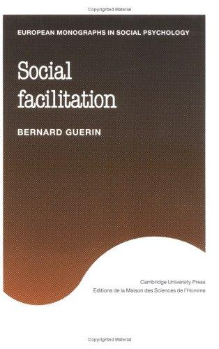 Social facilitation by Bernard Guerin
