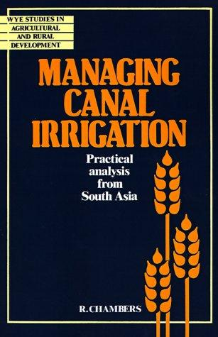 Managing Canal Irrigation