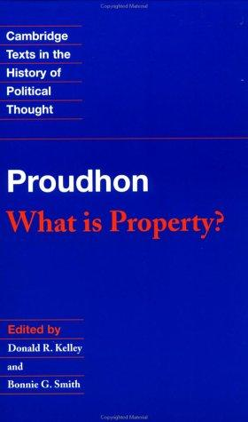 What is property? by P.-J. Proudhon