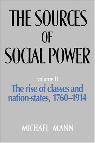 The Sources of Social Power, Vol. 2 by Michael Mann