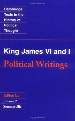 Political writings by James I King of England