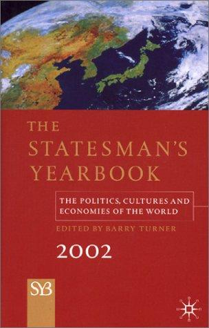 The Statesman's Yearbook 2002 by Barry Turner