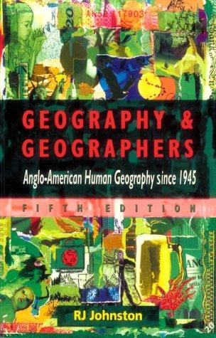 Geography & Geographers